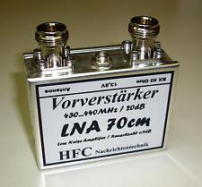 LNA-70cm Vorverstärker / 20 dB / 430-440 MHz Weißblechgehäuse