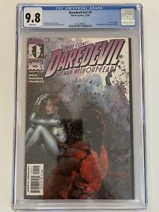 Daredevil #9 v2 (1999) - CGC 9.8  [1st Appearance of Maya Lopez (Echo)]