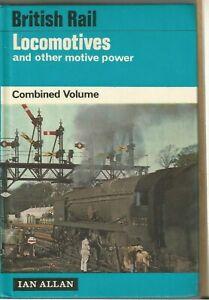 IAN ALLAN  ABC LOCOMOTIVES MOTIVE POWER COMBINED VOLUME 1967 CLEAN COPY NO TICKS