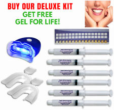 44% Peroxide Teeth Whitening Tooth Bleaching Whitener Kit Oral GEL FOR LIFE !