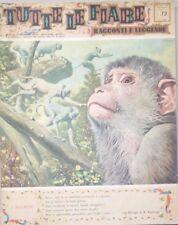 TUTTE LE FIABE DELLA NONNA -I MACACHI-RIVISTA DEL 1964-ANNO 2 N.72