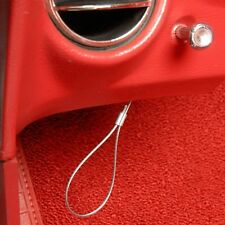 C3 Corvette Hood Emergency Hood Release Cable Kit Fits: All 77 - 82 Corvettes