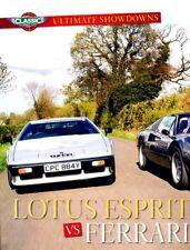 Lotus Esprit Turbo vs. Ferrari 308 Car Review Report Print Article J963