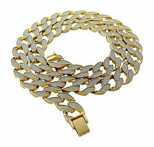 """Iced Out Miami Cuban Link 30"""" Chain Necklace"""