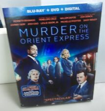 Murder on the Orient Express Blu-ray + DVD + Digital  2018 NEW Sealed w/ Sleeve