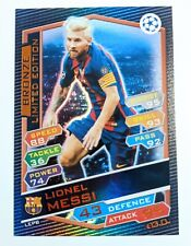 Lionel Messi Match Attax CHAMPIONS LEAGUE Bronze Limited Edition 2016 2017 LEPB