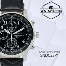 Seiko Chronograph Watch SNDC33P1 AU FAST & FREE