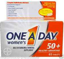 NEW ONE-A-DAY WOMEN'S 50+ FORMULA MULTIVITAMIN MINERALS SUPPLEMENT OVERALL BODY