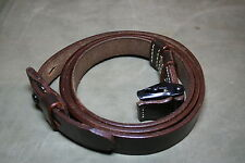 GERMAN ARMY K98 MAUSER LEATHER RIFLE SLING - WW2 REPRO