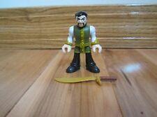 Fisher Price Imaginext DC Super Friends Ras Al Ghul Batman's foe Mentor sword