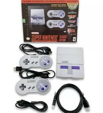 New ListingSnes Super Nintendo Classic Mini Super Entertainment System 21 Build-In Games