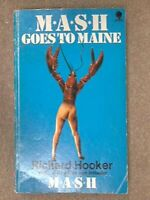 MASH Goes to Maine by Hooker, Richard Book The Fast Free Shipping