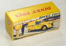 Boite neuve pour Dinky Toys Citroen 2cv PTT N° 560