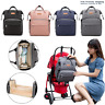 Multifunctional Folding Baby Bed Mommy Backpack Portable Crib Nappy Bag