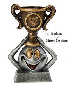 "Lustiger Pokal ""Funny Winner"" ST39487 (H=9,5 cm) inkl.Emblem & Gravur 4,99 EUR"