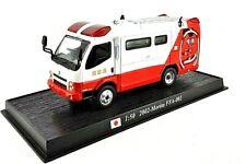 Fire Engine Truck Japan 2002 Morita FFA 001 Diecast 1/50 DelPrado Rare Model NEW