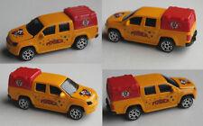 "Majorette - VW Amarok Pickup melonengelb/rot ""Le Cirque Pinder"" Zirkus"