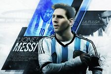 Lionel Messi Argentina Poster - 2019 POSTER 24x36
