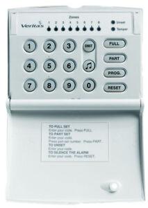 Texecom Veritas Burglar Alarm Remote LED Keypad DCA-0001 for V8 C8 and R8