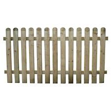 Recinzione steccato staccionata in legno di pino da esterno giardino cm 120x200