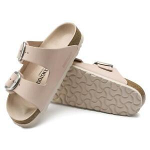New Women's Birkenstock Arizona Big Buckle Leather Sandals Size US 7-7.5 Euro 38