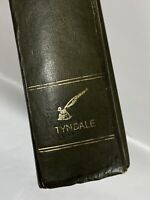 Vintage Bible 1973 The Living Bible Tyndale PARAPHRASED Leather Like Holy Bible