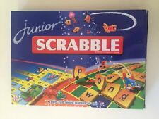 Junior Scrabble Board Game - 2 Games in 1 for Young & Old *COMPLETE*