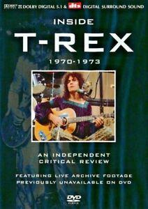 Inside T-REX Independent Critical Review 1970-1973 DVD - Brand New