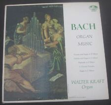 BACH Organ Music  Walter Kraft   Allegro ( VOX ) AR 88019 USA LP