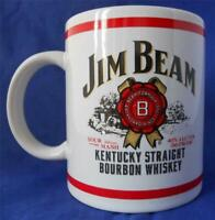 Jim Beam Kentucky Straight Bourbon Whiskey Houston Harvest Coffee Mug Cup