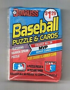1989 Donruss Cello Pack Sealed Ken Griffey Jr. RC Rookie On Top
