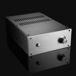 Aluminum Chassis for Power Amplifier DAC Enclosure DIY Metal Case Audio Amp Box
