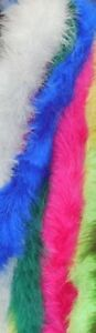 New Deluxe French Marabou Various Colors and Lengths Costuming Raw Goods