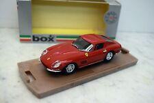 BOX 1:43 8416 FERRARI 275 GTB 4, rosso, ruote a raggi