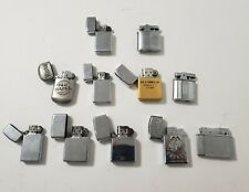 Lot Of Pocket Lighters Zippo Ronson And others