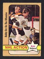 1972-73 OPC BOBBY ORR #58 NHL ACTION VG-EX (REF 11073)