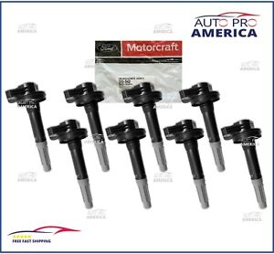 (8)GENUINE FORD 2011-2016 Ford F150 Mustang 5.0L Ignition Coils DG542 BR3Z12029A