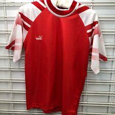 Puma Soccer Futbol Jersey Shirt Red White Youth Xs