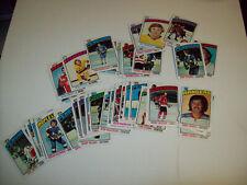 1976-77 TOPPS HOCKEY CARDS  38 CARD LOT
