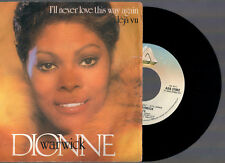 "DIONNE WARWICK I'LL NEVER LOVE THIS WAY AGAIN + DEJA VU' 1980 ARISTA 7"" 45 GIRI"