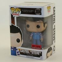 "Funko POP! Supernatural Vinyl Figure - CASTIEL ""STEVE"" #304 *NON-MINT BOX*"