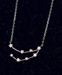 Necklace Sternenkonstellation Sternbild Steinbock Sterling Silver 925