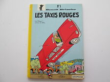 BENOIT BRISEFER 1972 BE/TBE LES TAXIS ROUGES DOS ROND