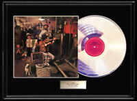 BOB DYLAN AND BAND BASEMENT TAPES LP WHITE GOLD SILVER PLATINUM TONE RECORD RARE