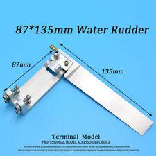 Quality CNC Aluminum Rudder 135mm for RC Boat Marine et#110