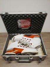 Nike Air Jordan 17 XVII OG WHITE VARSITY RED sz 9 2002 xvii WITH CASE AND CD VTG