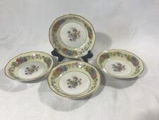 "Theodore Haviland Limoges France AZAY LE RIDEAU Set of 4 Custard Fruit Bowls 5"""
