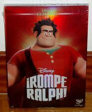 ROMPE RALPH DVD DISNEY CLASICO Nº 54 NUEVO PRECINTADO FUNDA DE CARTON (SIN ABRIR