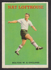 A&BC - Footballers Quiz (1-49) 1959 - # 41 Nat Lofthouse - Bolton