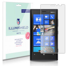 iLLumiShield Matte Screen Protector w Anti-Glare/Print 3x for Nokia Lumia 920